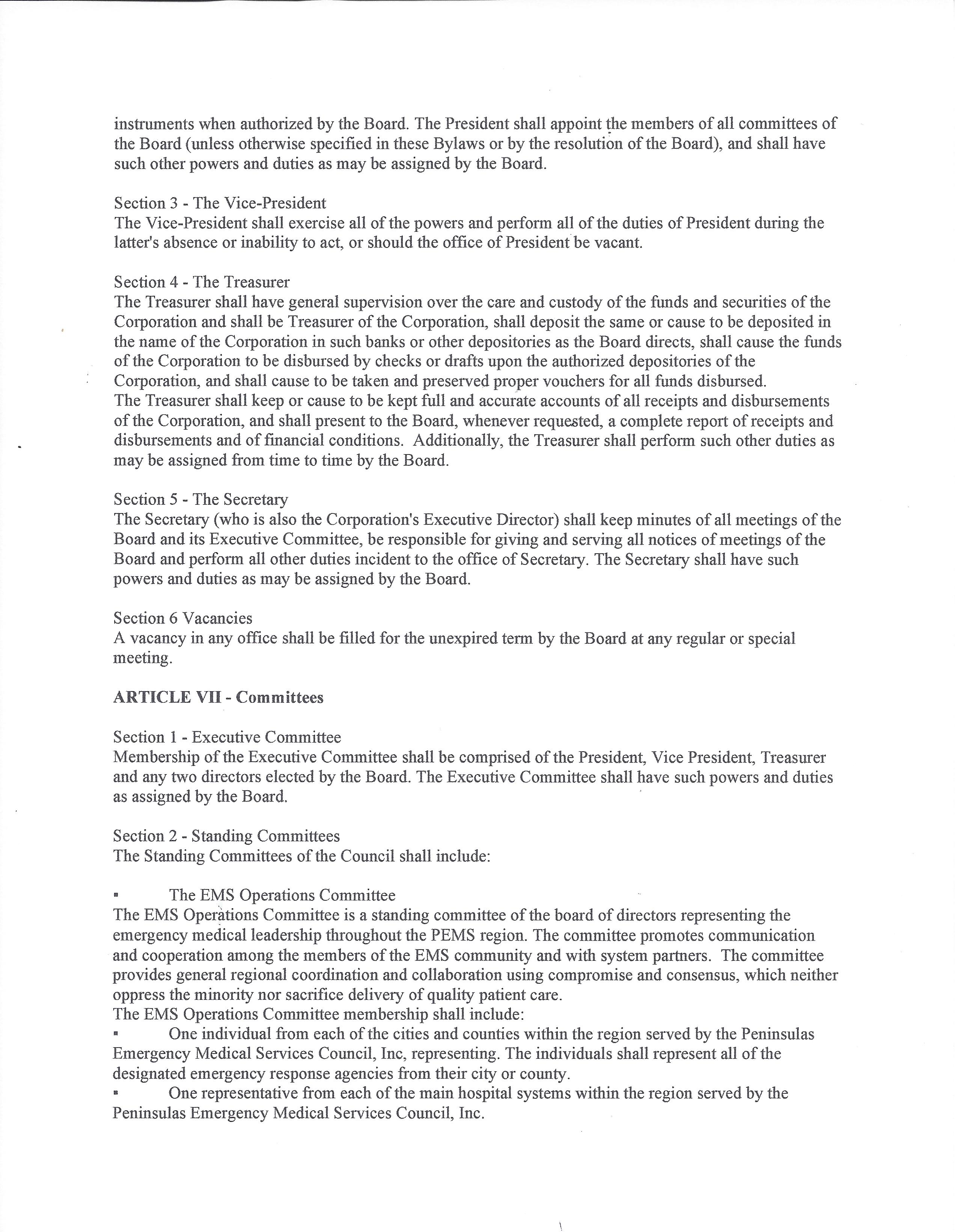PEMS Council Inc. Bylaws 06 21 17 Page 04
